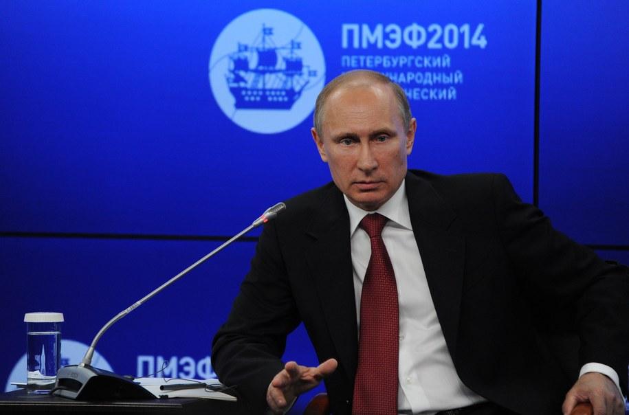 Władimir Putin /MIKHAIL KLIMENTYEV/RIA NOVOSTI/KREMLIN POOL  /PAP/EPA