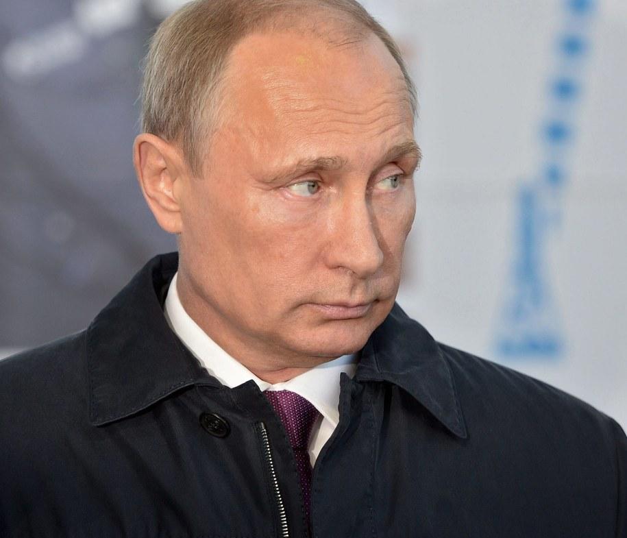 Władimir Putin /ALEXEY NIKOLSKY /RIA NOVOSTI / KREMLIN POOL /PAP/EPA
