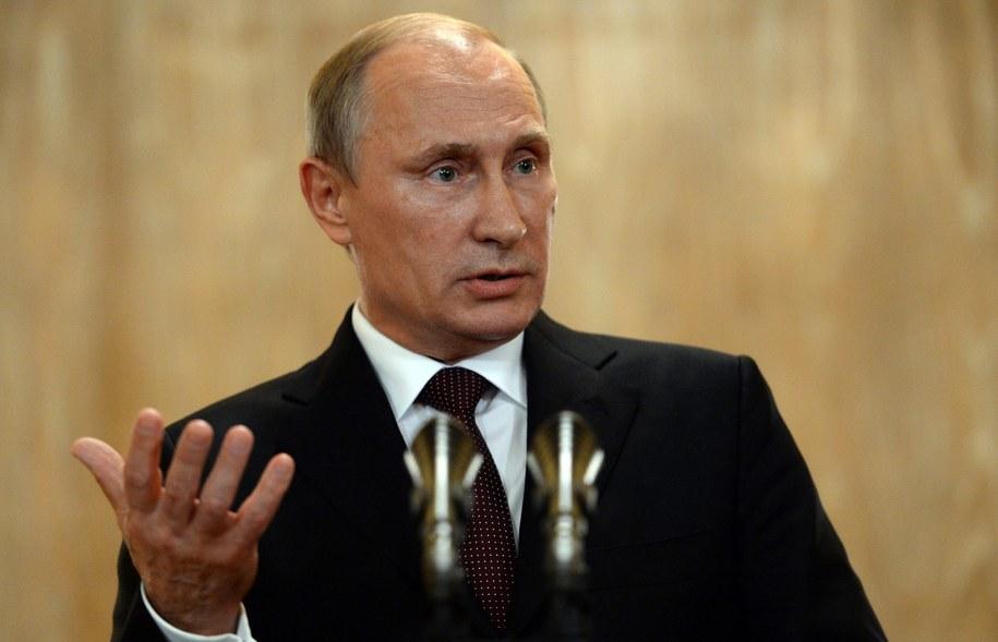Władimir Putin /VASILY MAXIMOV/POOL /PAP/EPA