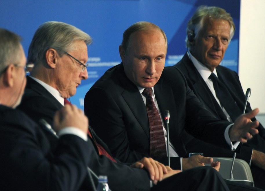 Władimir Putin /MIKHAIL KLIMENTIEV/RIA NOVOSTI /PAP/EPA