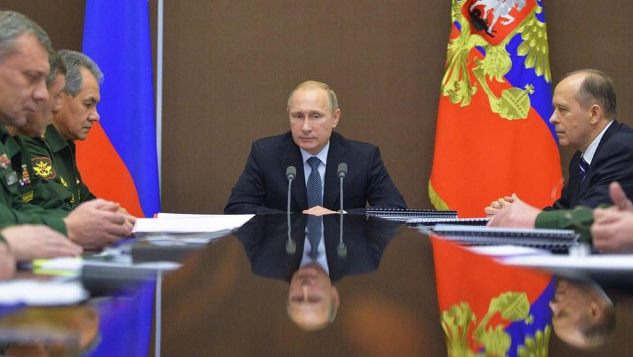 Władimir Putin /ALEXEY DRUZHININ/RIA NOVOSTI/KREMLIN POOL /PAP/EPA