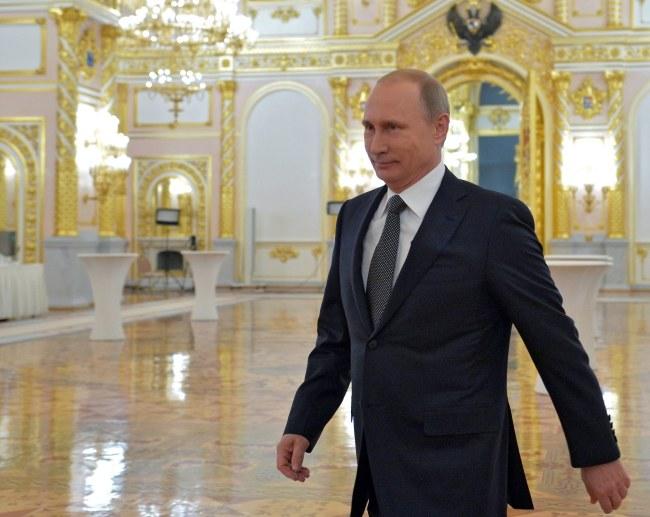 Władimir Putin /PAP/EPA/ALEXEY DRUGINYN / RIA NOVOSTI / KREMLIN POOL /PAP/EPA