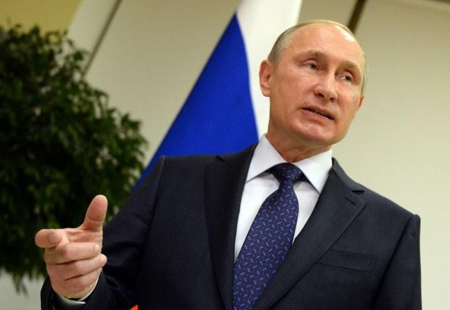 Władimir Putin /PAP/EPA/VASILY MAXIMOV / POOL /PAP/EPA