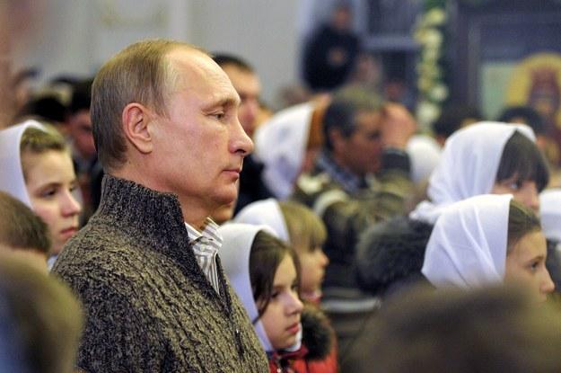 Władimir Putin /ALEKSEY DRUGINYN / RIA NOVOSTI POOL /PAP/EPA