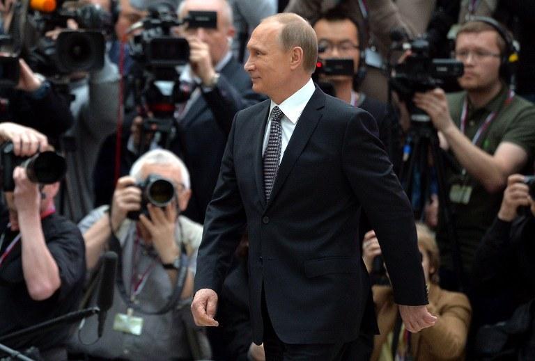 Władimir Putin /ALEXEI DRUZHININ / RIA NOVOSTI  /AFP