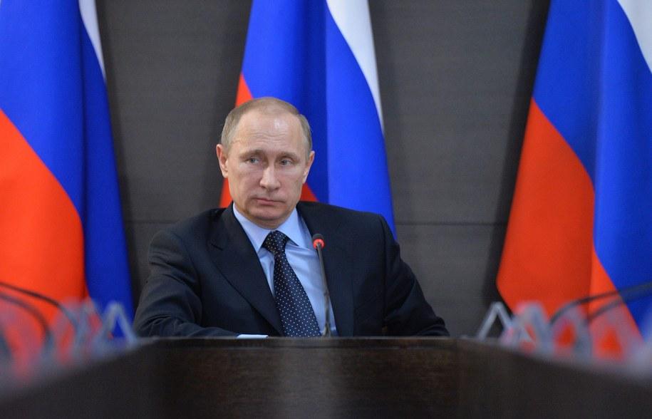 Władimir Putin /ALEXEI DRUGINYN/RIA NOVOSTI/KREMLIN POOL /PAP/EPA