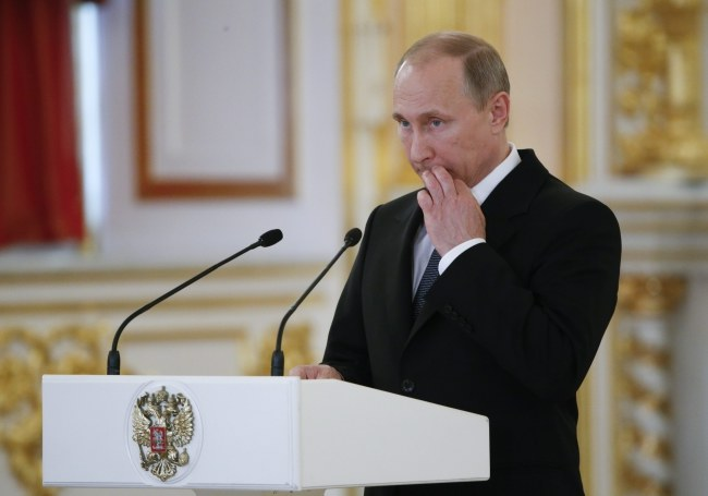 Władimir Putin /PAP/EPA/SERGEI KARPUKHIN / POOL /PAP/EPA
