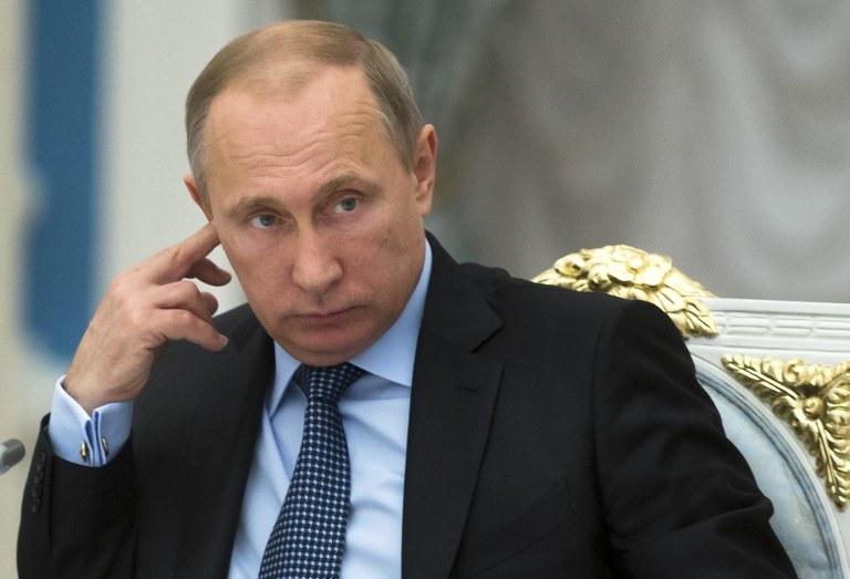 Władimir Putin /PAVEL GOLOVKIN / POOL / AFP /AFP