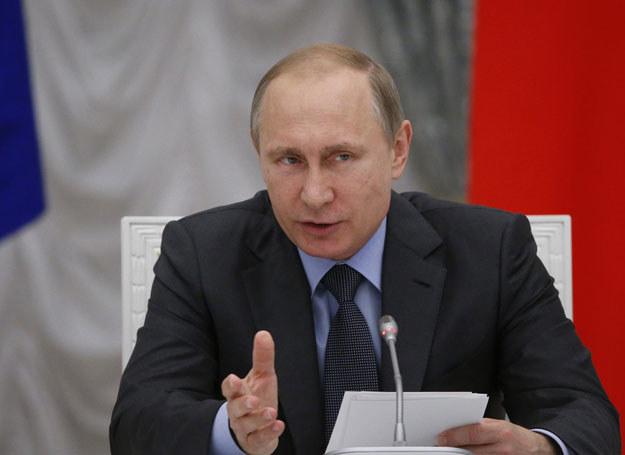 Władimir Putin /SERGEI KARPUKHIN /East News