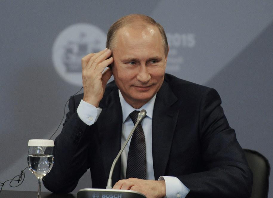 Władimir Putin / MIKHAIL KLIMENTIEV/RIA NOVOSTI/KREMLIN POOL    /PAP/EPA