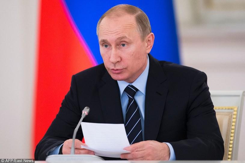Władimir Putin /ALEXANDER ZEMLIANICHENKO/AFP /East News