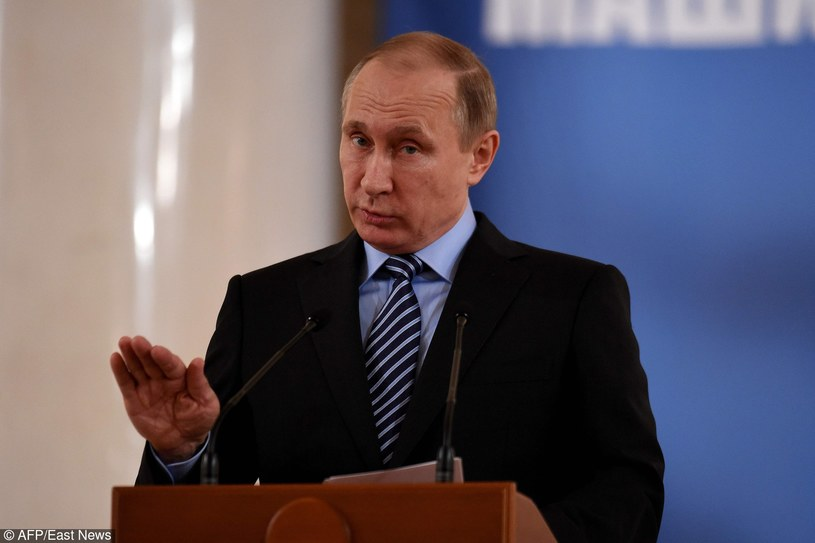 Władimir Putin /VASILY MAXIMOV/AFP /East News