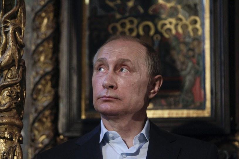 Władimir Putin /Alexandros Avramidis  /PAP/EPA