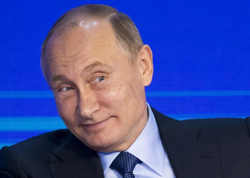 Władimir Putin /ALEXANDER ZEMLIANICHENKO / POOL /AFP