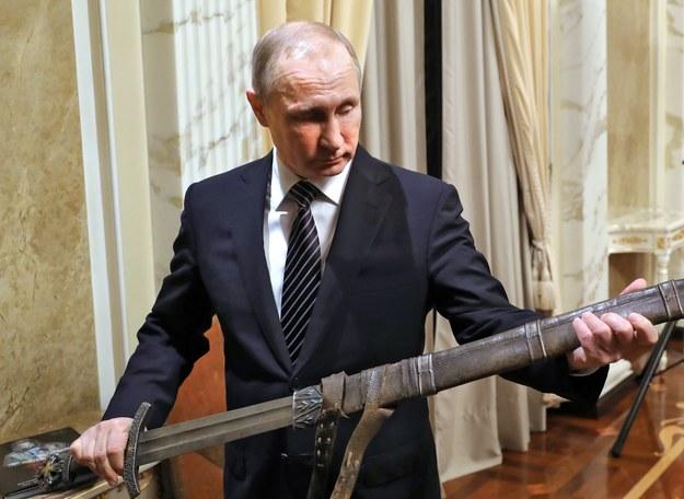 Władimir Putin /MICHAEL KLIMENTYEV / SPUTNIK / KREMLIN POOL /PAP/EPA