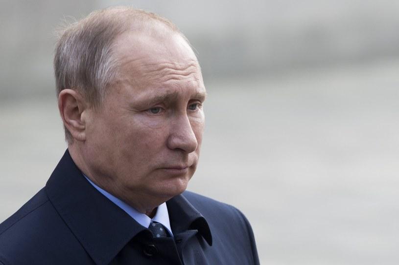 Władimir Putin /PAVEL GOLOVKIN /PAP