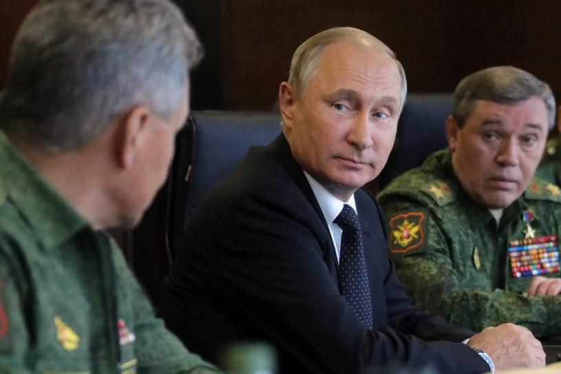 Władimir Putin /SPUTNIK MIKHAIL KLIMENTYEV /AFP