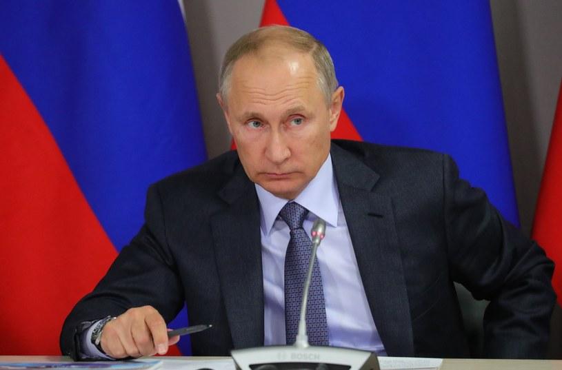Władimir Putin /Michael Klimentyev /PAP/EPA