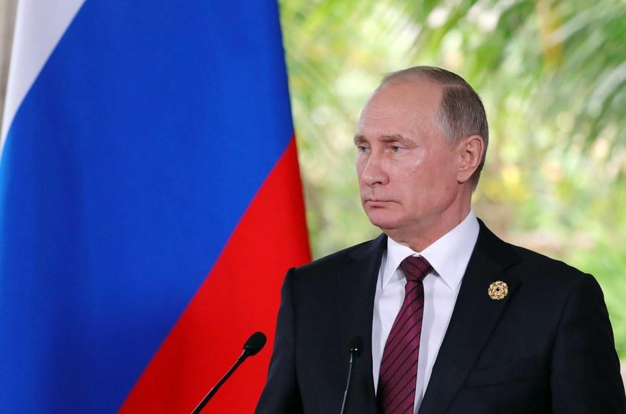 Władimir Putin /MIKHAIL KLIMENTYEV/SPUTNIK/KREMLIN POOL /PAP/EPA