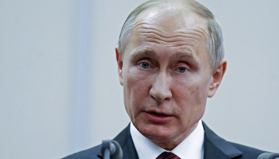 Władimir Putin /PAVEL GOLOVKIN /PAP/EPA