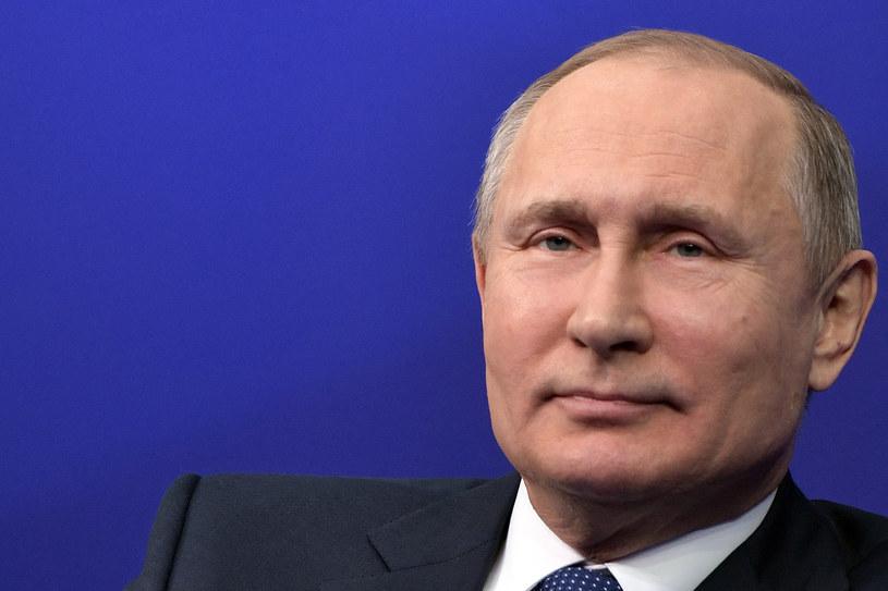 Władimir Putin /ALEXEY NIKOLSKY / SPUTNIK   /AFP