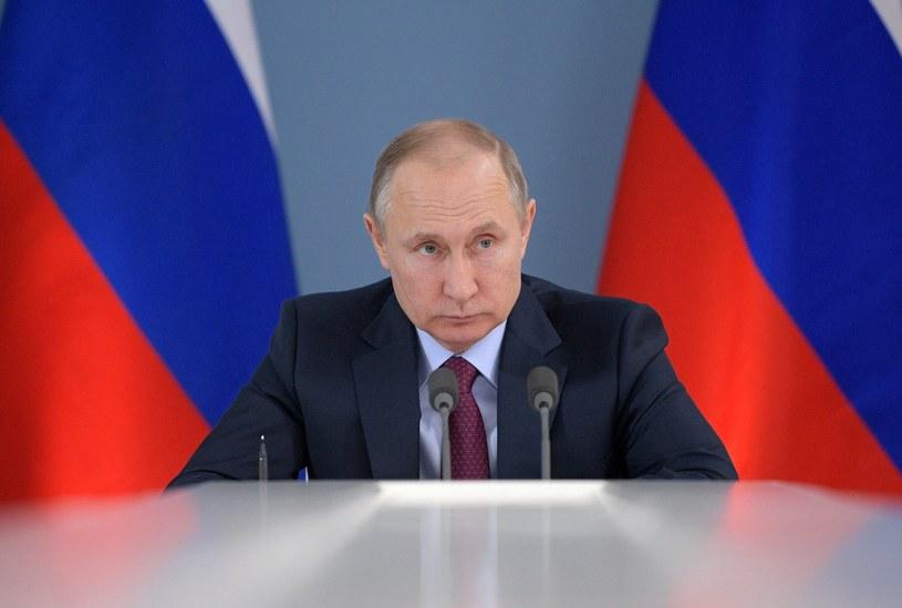 Władimir Putin /ALEXEI DRUZHININ / SPUTNIK /PAP/EPA