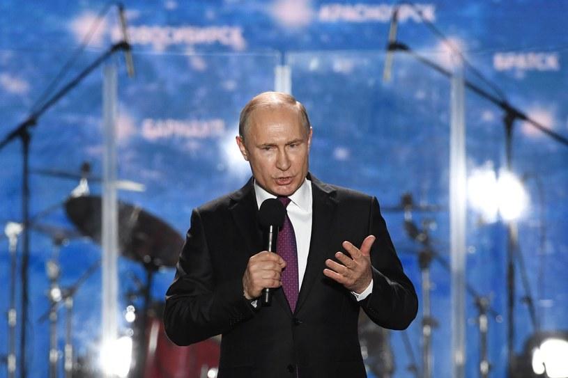 Władimir Putin /Yuri Kadobnov /AFP