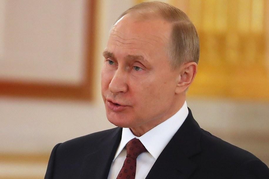 Władimir Putin /SERGEI ILNITSKY/POOL /PAP/EPA