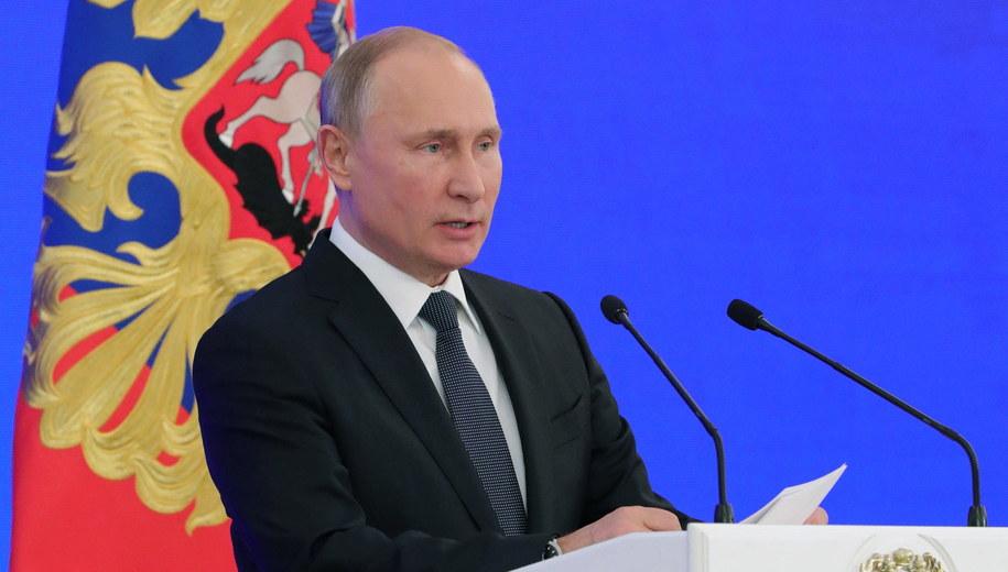 Władimir Putin /Michael Klimentyev/Sputnik  /PAP/EPA