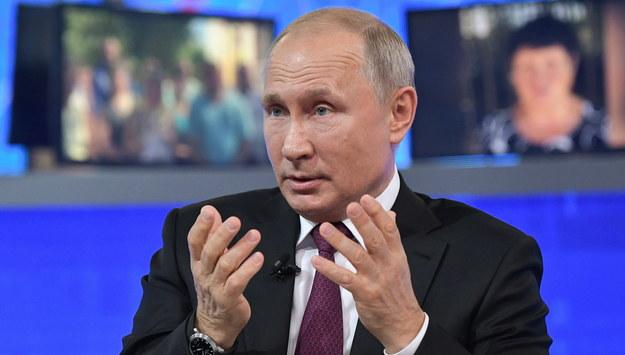 Władimir Putin /ALEXEY NIKOLSKY / SPUTNIK   /PAP/EPA