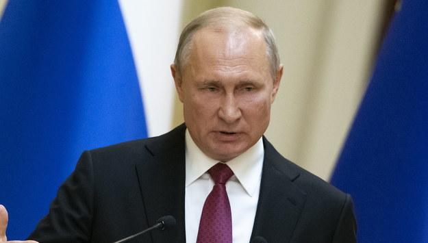 Władimir Putin /ALEXANDER ZEMLIANICHENKO /POOL /PAP/EPA