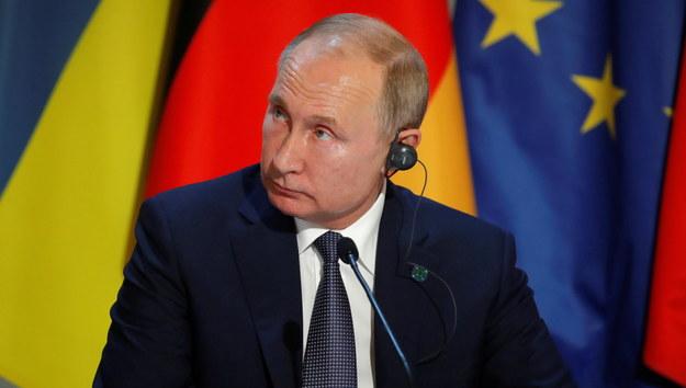 Władimir Putin /CHARLES PLATIAU / POOL MAXPPP OUT /PAP/EPA