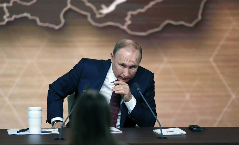 Władimir Putin /YURI KOCHETKOV /PAP