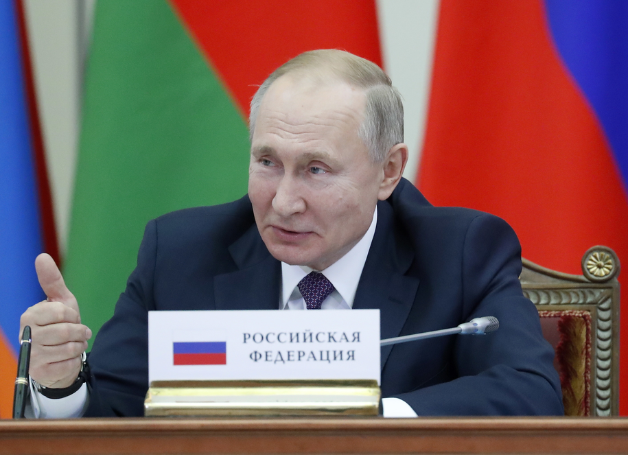 Władimir Putin /ANATOLY MALTSEVL / POOL /PAP/EPA