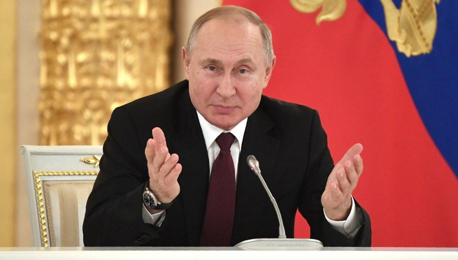 Władimir Putin /ALEXANDER NEMENOV/POOL /PAP/EPA
