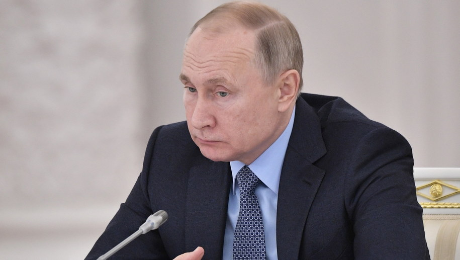 Władimir Putin /ALEXEY NIKOLSKY / SPUTNIK / KREMLIN POOL /PAP/EPA