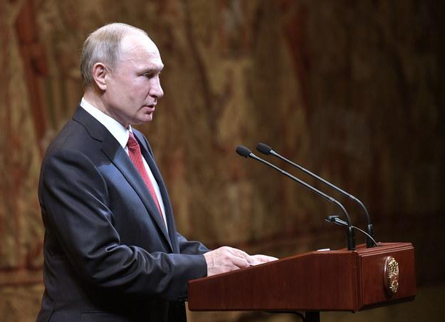 Władimir Putin /PAP/EPA/ALEXEI NIKOLSKY / SPUTNIK / KREMLIN POOL /PAP/EPA