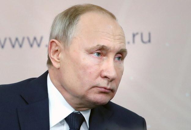 Władimir Putin /MICHAEL KLIMENTYEV/SPUTNIK/KREMLIN POOL /PAP/EPA