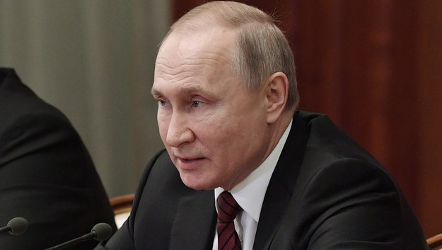 Władimir Putin /ALEXEI NIKOLSKY / SPUTNIK / KREMLIN POOL / POOL /PAP/EPA