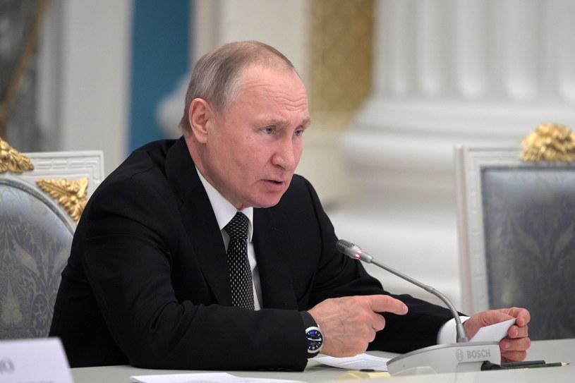 Władimir Putin /Alexey DRUZHININ / SPUTNIK /AFP
