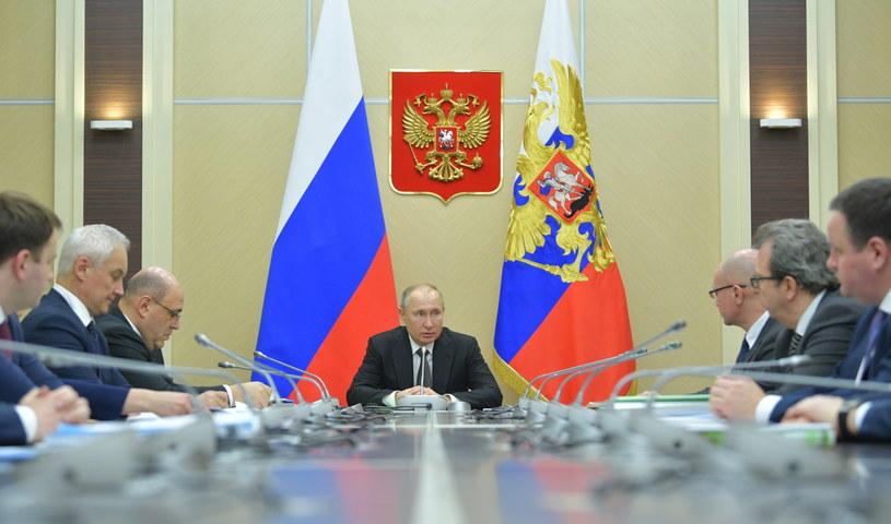 Władimir Putin /ALEXEI DRUZHININ / KREMLIN POOL /SPUTNIK /PAP/EPA