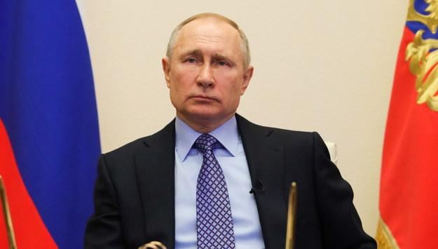 Władimir Putin /MIKHAIL KLIMENTYEV / SPUTNIK / /PAP/EPA