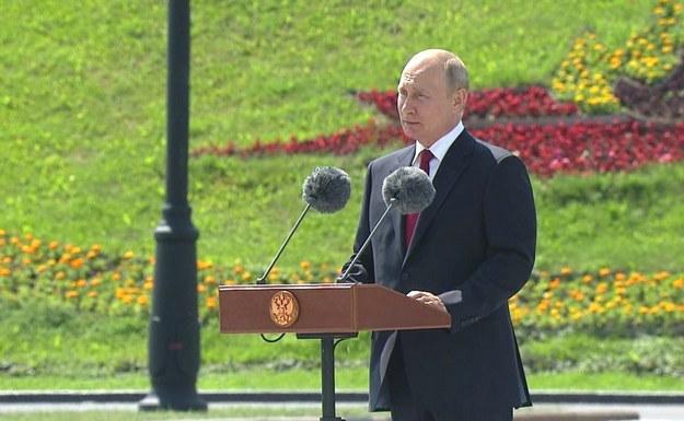 Władimir Putin /KREMLIN / HANDOUT /PAP/EPA