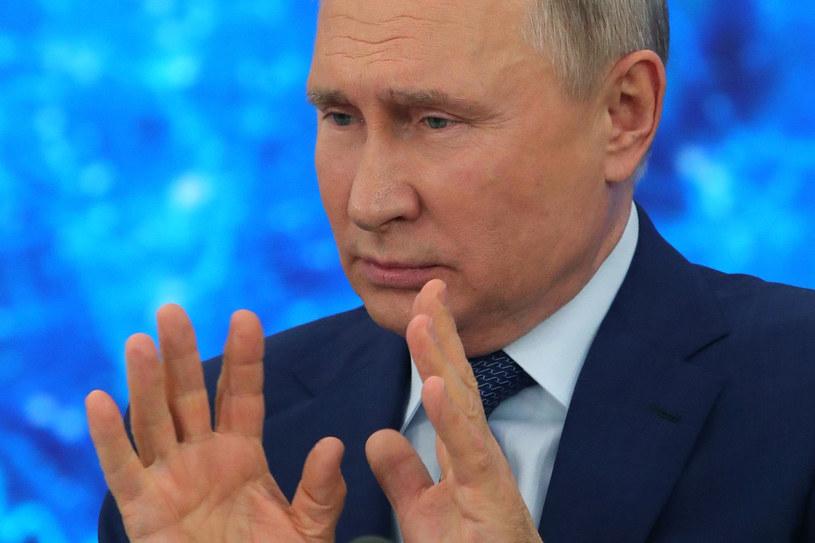 Władimir Putin /MIKHAIL KLIMENTYEV / SPUTNIK  /AFP