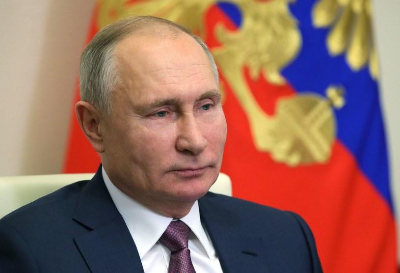 Władimir Putin /Sputnik/MIKHAIL KLIMENTYEV /AFP
