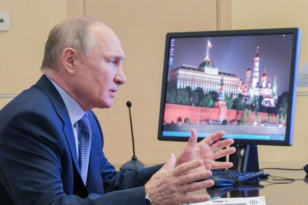 Władimir Putin /ALEXEI DRUZHININ/SPUTNIK/KREMLIN / POOL /PAP/EPA