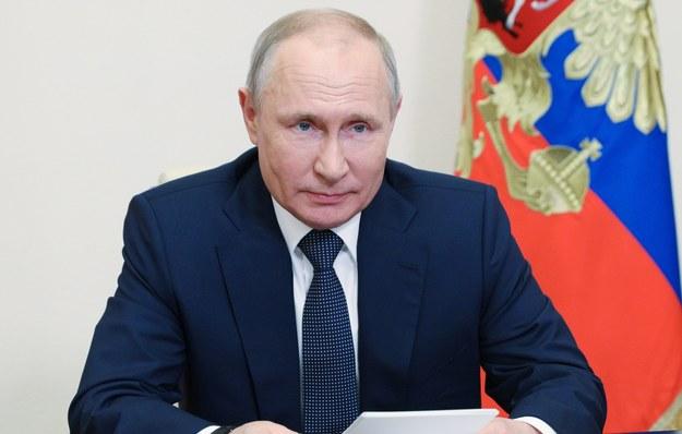 Władimir Putin /SERGEI ILYIN / KREMLIN POOL/SPUTNIK / POOL MANDATORY CREDIT  /PAP/EPA