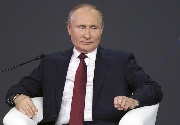 Władimir Putin /EPA/DMITRI LOVETSKY/POOL /PAP/EPA