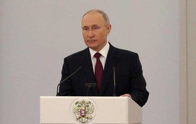 Władimir Putin /MIKHAEL KLIMENTYEV/SPUTNIK/KREMLIN POOL /PAP/EPA