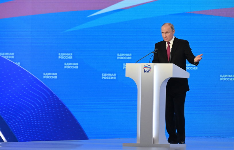 Władimir Putin /GRIGORY SYSOYEV/SPUTNIK/KREMLIN POOL /PAP/EPA